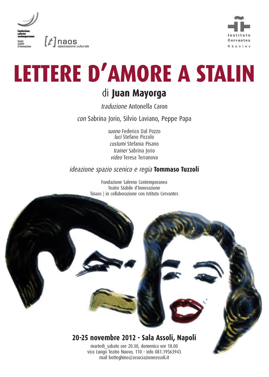 flyer lettere amore a stalin
